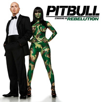 Cd Pitbull Starring In Rebelution Envio,lector Usb Grati Sp0