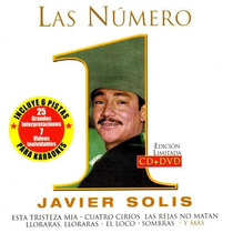 Las Numero 1 Javier Solis Edicion Limitada Cd+dvd Nuevo