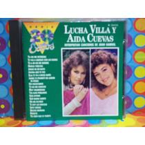Lucha Villa Y Aida Cuevas Cd Serie De 20 Exitos 1991