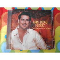 Juan Diego Florez Cd Sentimiento Latino 2006