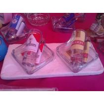 Kit Cenicero Encendedor Y Copita Tequilera. Logo Raleigh Etc