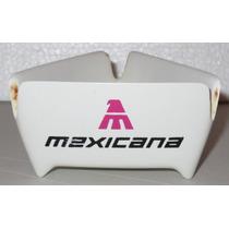 Viejo Cenicero De Mexicana De Aviacion En Baquelita