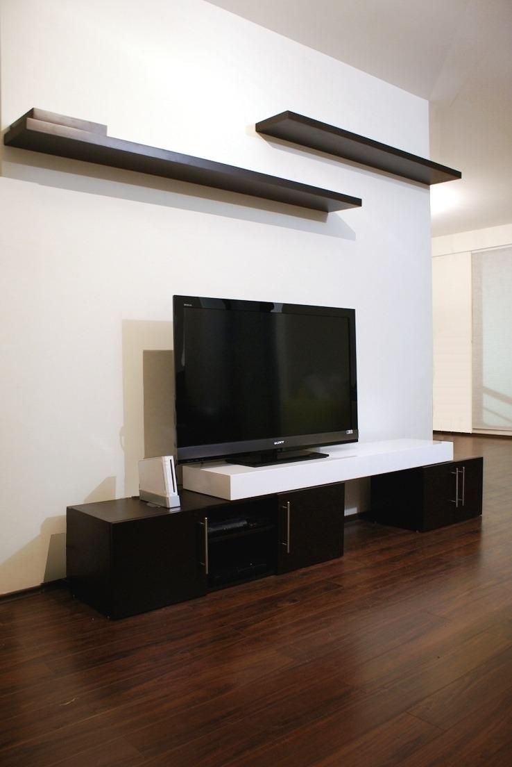 Centro entretenimiento minimalista muebles picture car for Muebles minimalistas