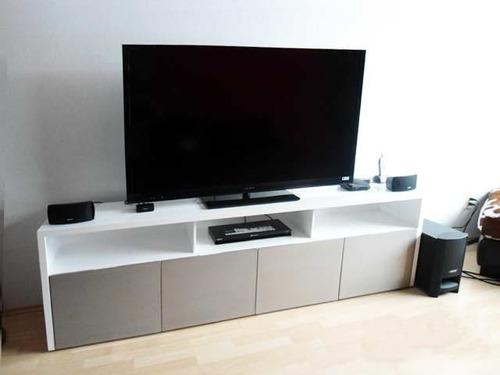 Muebles de entretenimiento para sala minimalista for Muebles para sala de tv