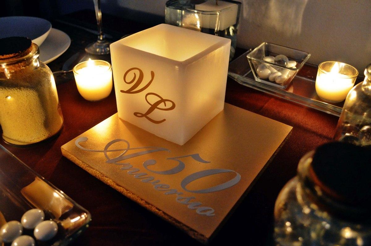 Centro de mesa para bodas de oro aluzza en mercadolibre - Precios de centros de mesa para boda ...