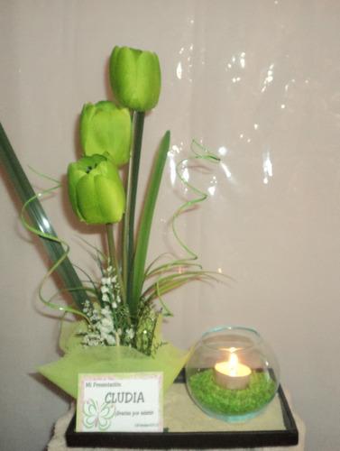 Centro de mesa con globos y brochetas de gomitas car - Arreglos con globos para boda ...
