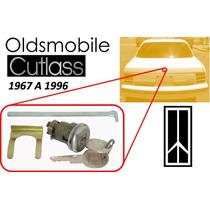 67-96 Oldsmobile Cutlass Chapa Cajuela Con Llaves Cromado
