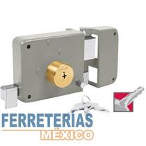 Cerradura Sobreponer Clasica Tetra Izq Caja Hermex 43530
