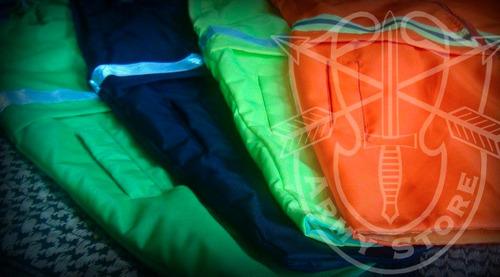 Chamarra-chaleco Impermeable Con Reflejante 2 En 1