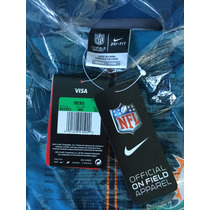 Chamarra Nike Miami Dolphins Game Day Half-zip Tri-blend
