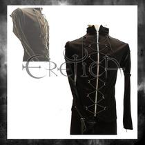 Chamarra Eretica Ropa Dark Gotico Terciopelo Hombre Y Mujer