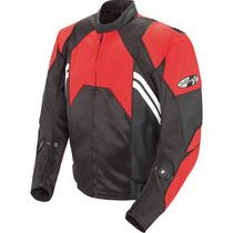 Joe Rocket Radar Chamarra De Piel Motos Motociclismo Colores