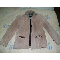 Limpieza De Closet¡¡¡ Chamarrra/chaqueta De Carnaza (gamuza)
