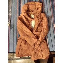 Chamarra Silver Sport Nueva Color Camel Talla 14
