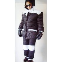 Chamarra Pantalon Nieve 8000 Fit Confort 7 A 30 Bajo Cero