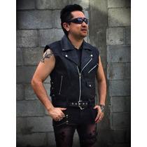 Chaleco Estilo Biker Motociclista Rock Metal Harley Chopper
