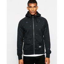 Chamarra Nike Fc Zip Up Hoodie With Star Print Talla M