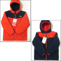 Chamarra North Face Reversible True/false (jovencitos) Remat