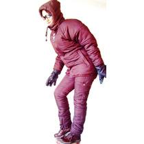 Traje Termico Ropa Nieve Chamarra Pantalon Montaña Esqui