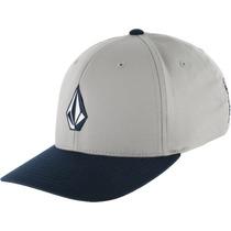 Gorra Volcom Full Stone Xfit Hat Gris No Rvca Envío $100