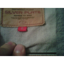 Chamarra Silver Plate Para Dama