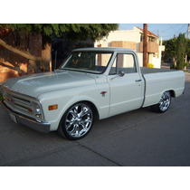 Chevrolet Pick Up 1968 C10 Preciosa!! No Hay Que Meterle Nad
