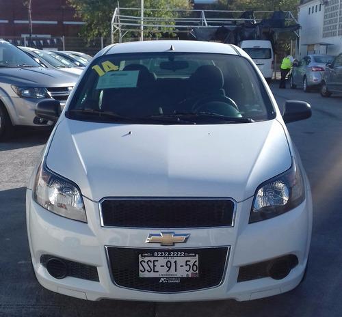 Chevrolet Aveo Ls 2014, Seminuevo Desde 20% De Enganche