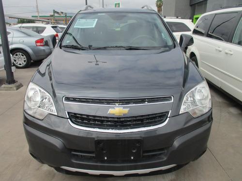 Chevrolet Captiva Sport Ls, 4 Cil, Color Gris, Modelo 2013