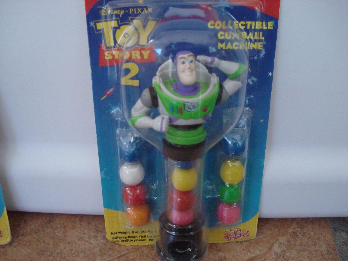 Toy Story Gum : Chiclera dispensador gum ball buzz lightyear toy story