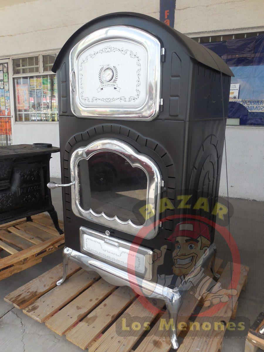 Chimenea de le a con horno cocedor calefactor 6 999 - Chimenea horno de lena ...