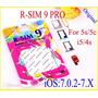 R-sim 9 Pro Desbloqueo Liberacion Iphone 4s 5 5c 5s Turbosim