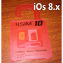 R-sim 10 Original Ios 8 Iphone 4s/5/5s/5c, Iphone 6, 6 Plus