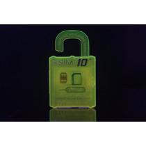 Lote De 10 R-sim 10+ Gevey Iphone 6s/6s+/6/6+/5s/5c/5/4s Ios