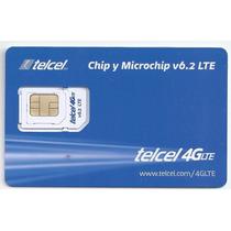 Chip Telcel 4g Lte Region 7 V6.2 R7 Pue Oax Tlax Grro Ver