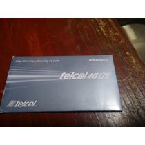 Chip Telcel 4g Con 400 Pesos De Saldo