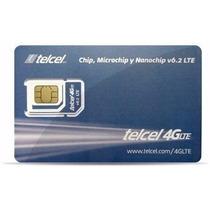 Chip Express Telcel Llamadas Ilimitadas 4g Lte