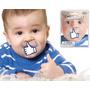 Chupón Para Bebé Diseños Divertidos Nuevo Beso Barba Like