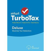 Turbo Tax Deluxe 2015 + Estado Federal De Impuestos + Reserv