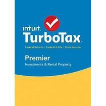 Turbotax Premier 2015 + Estado Federal De Impuestos + Reserv