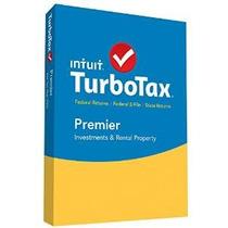 Turbotax Premier 2015 Impuestos Federal + State + Fed Efile
