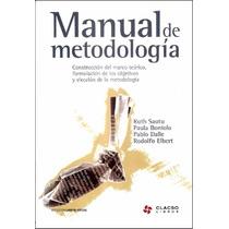 Manual De Metodología - Sautu Pdf