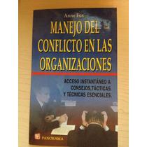 Libro: Manejo De Conflictos En Las Organizaciones. Vbf