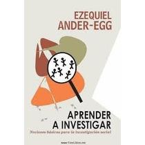 Aprender A Investigar Pdf