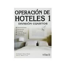 Libro Operaciones De Hoteles 1 Division Cuartos