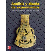Análisis Y Diseño De Experimentos Pdf