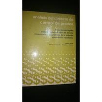 Analisis Decreto Control Precios Vazquez Tercero