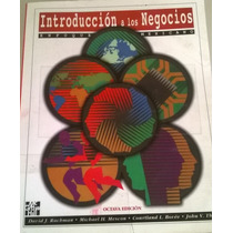 Introducción A Los Negocios Enfoque Mexicano Rachman Mescon