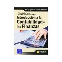 Libro Introduccion A La Contabilidad Y Las Finanzas *cj