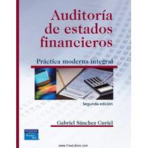 Auditoría De Estados Financieros Pdf
