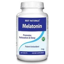 Mejores Naturals Melatonina 3 Mg 240 Comprimidos